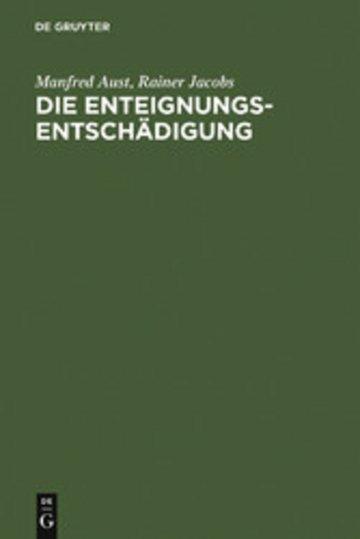 eBook Die Enteignungsentschädigung Cover