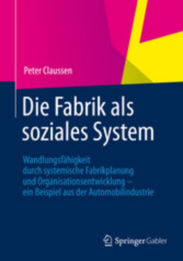 eBook Die Fabrik als soziales System Cover