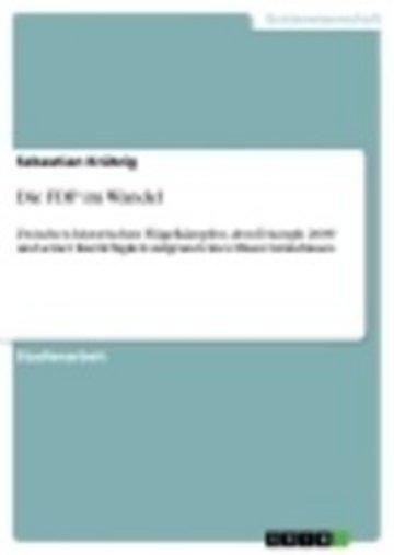 eBook Die FDP im Wandel Cover