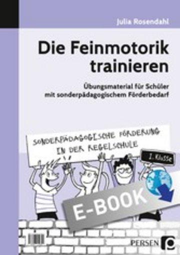 eBook Die Feinmotorik trainieren Cover