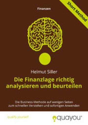 eBook Die Finanzlage richtig analysieren und beurteilen Cover