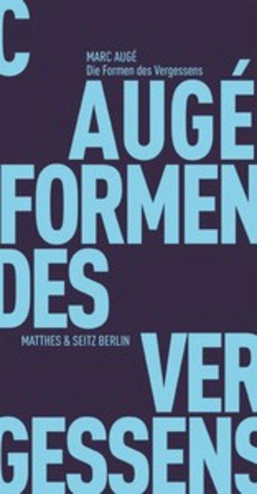 eBook Die Formen des Vergessens Cover