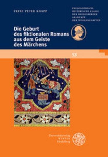 eBook Die Geburt des fiktionalen Romans aus dem Geiste des Märchens Cover