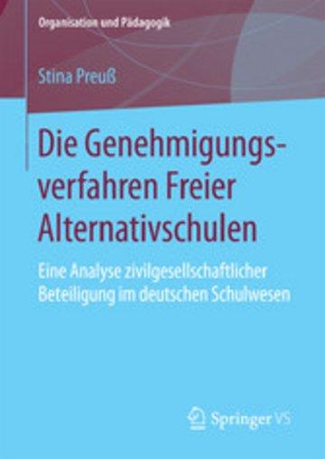 eBook Die Genehmigungsverfahren Freier Alternativschulen Cover