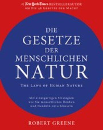 eBook Die Gesetze der menschlichen Natur - The Laws of Human Nature Cover