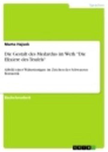 eBook Die Gestalt des Medardus im Werk 'Die Elixiere des Teufels' Cover