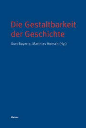 eBook Die Gestaltbarkeit der Geschichte Cover
