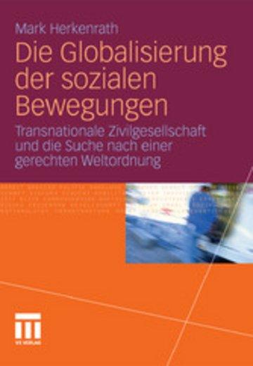 eBook Die Globalisierung der sozialen Bewegungen Cover