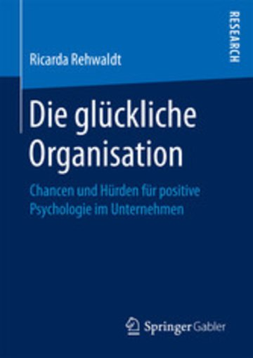 eBook Die glückliche Organisation Cover