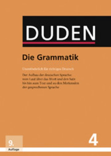 eBook Die Grammatik Cover