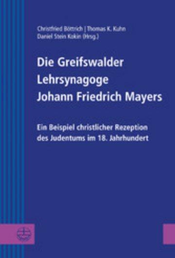 eBook Die Greifswalder Lehrsynagoge Johann Friedrich Mayers Cover