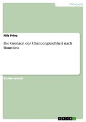 eBook Die Grenzen der Chancengleichheit nach Bourdieu Cover