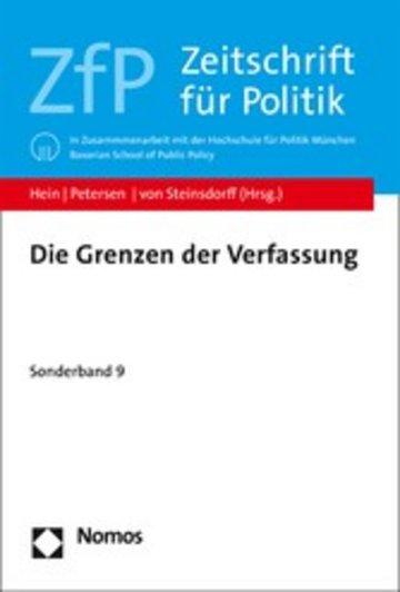 eBook Die Grenzen der Verfassung Cover