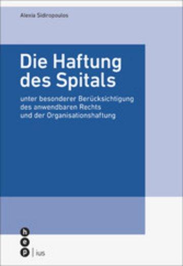 eBook Die Haftung des Spitals Cover