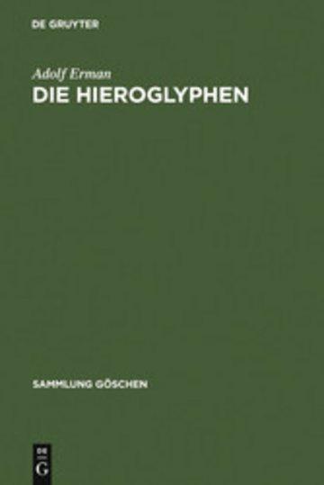 eBook Die Hieroglyphen Cover