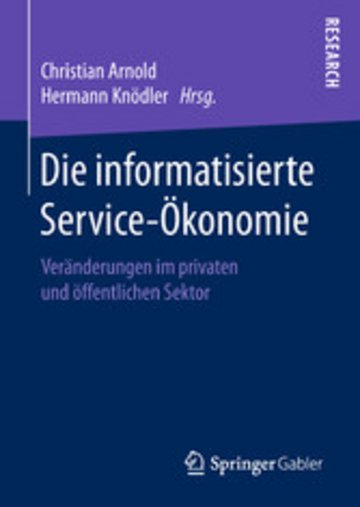 eBook Die informatisierte Service-Ökonomie Cover