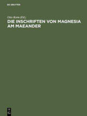 eBook Die Inschriften von Magnesia am Maeander Cover