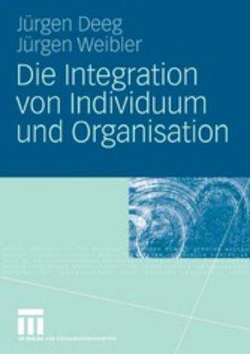 eBook Die Integration von Individuum und Organisation Cover
