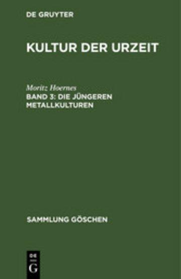 eBook Die jüngeren Metallkulturen Cover