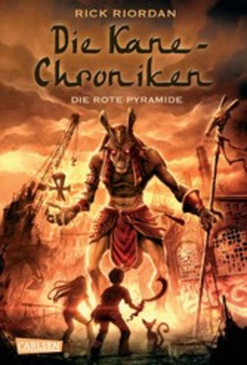 eBook Die Kane-Chroniken 1: Die rote Pyramide Cover