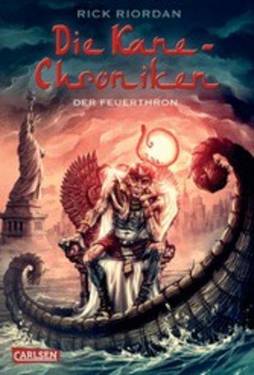 eBook Die Kane-Chroniken 2: Der Feuerthron Cover