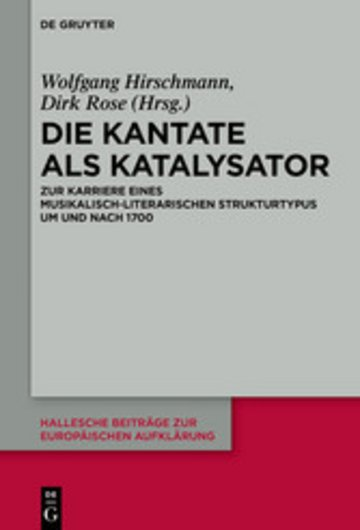 eBook Die Kantate als Katalysator Cover