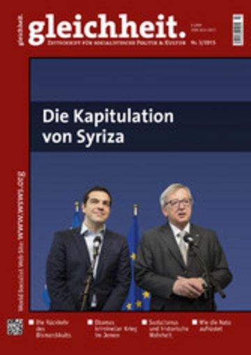 eBook Die Kapitulation von Syriza Cover