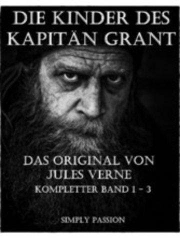eBook Die Kinder des Kapitäns Grant - Band 1 -3 Cover