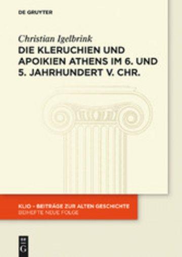 eBook Die Kleruchien und Apoikien Athens im 6. und 5. Jahrhundert v. Chr. Cover