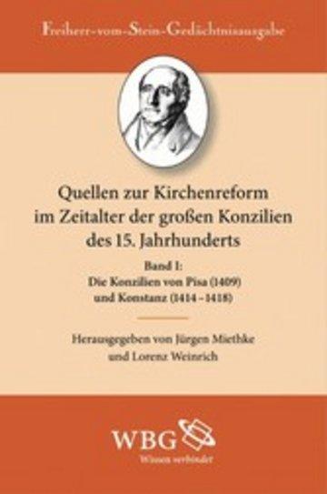 eBook Die Konzilien von Pisa (1409) und Konstanz (1414-1418) Cover