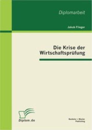 eBook Die Krise der Wirtschaftsprüfung Cover