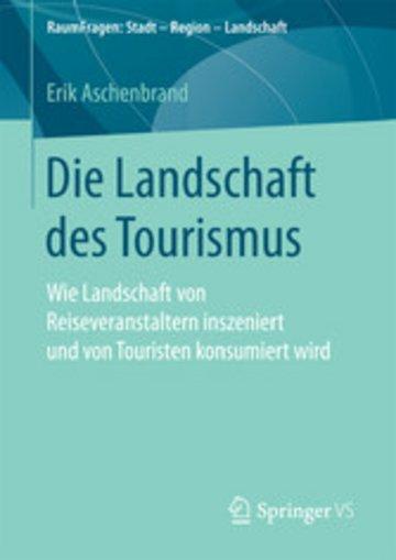 eBook Die Landschaft des Tourismus Cover