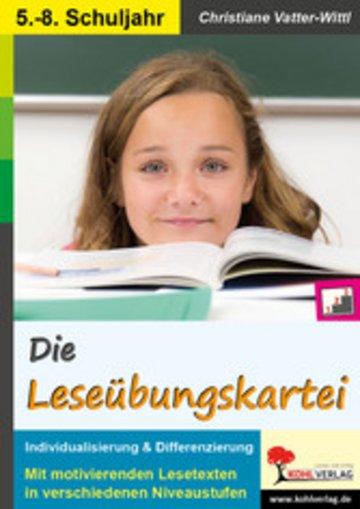 eBook Die Leseübungskartei Cover