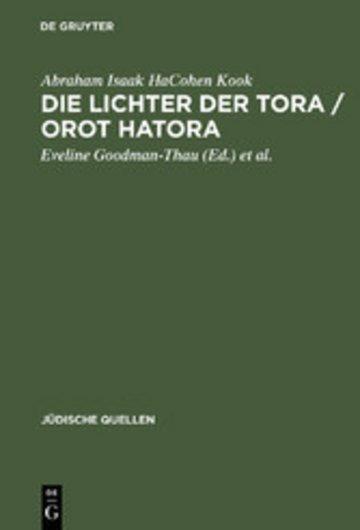 eBook Die Lichter der Tora / Orot HaTora Cover