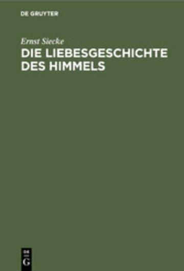 eBook Die Liebesgeschichte des Himmels Cover