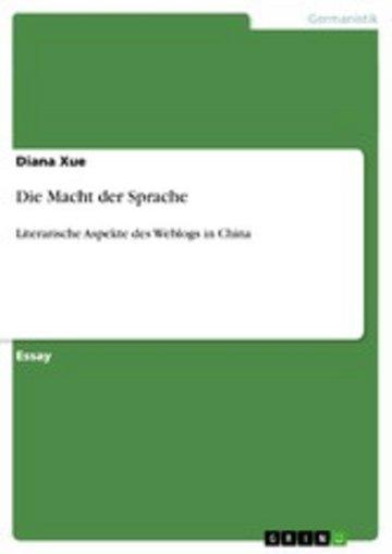 eBook Die Macht der Sprache Cover