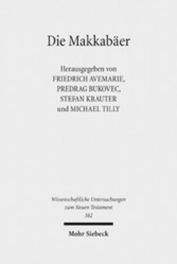 eBook Die Makkabäer Cover