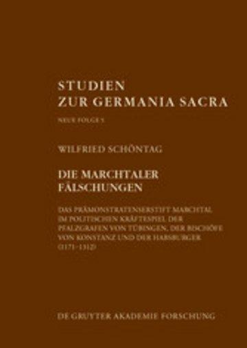 eBook Die Marchtaler Fälschungen Cover