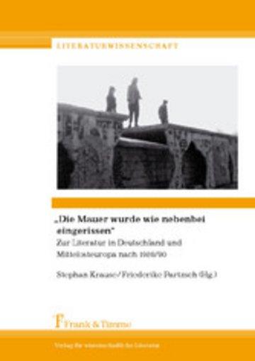 eBook 'Die Mauer wurde wie nebenbei eingerissen' Cover