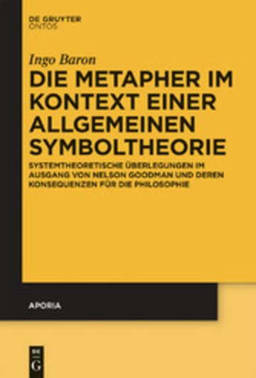 eBook Die Metapher im Kontext einer allgemeinen Symboltheorie Cover