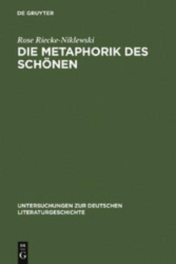 eBook Die Metaphorik des Schönen Cover