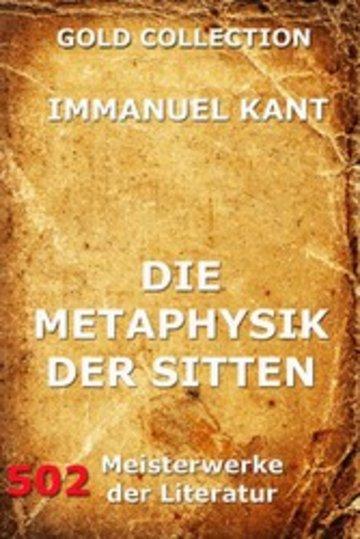eBook Die Metaphysik der Sitten Cover