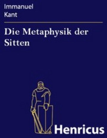 eBook Die Metaphysik der Sitten Cover
