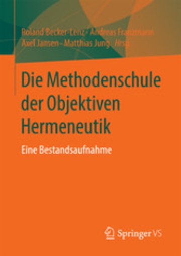 eBook Die Methodenschule der Objektiven Hermeneutik Cover