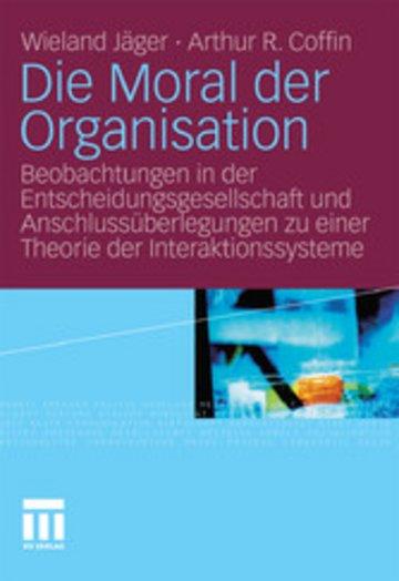 eBook Die Moral der Organisation Cover