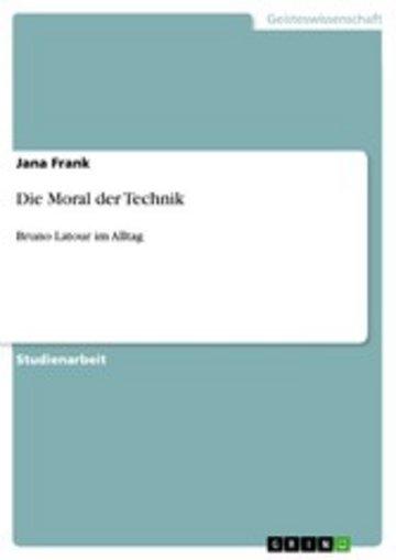 eBook Die Moral der Technik Cover