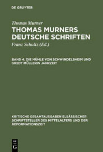 eBook Die Mühle von Schwindelsheim und Gredt Müllerin Jahrzeit Cover