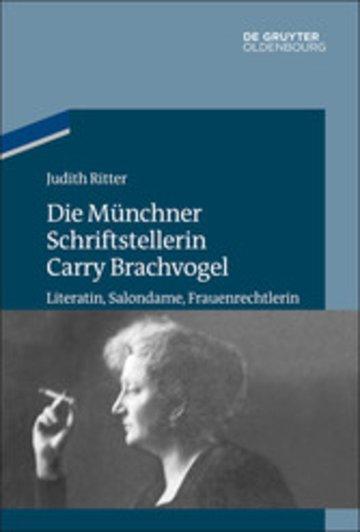 eBook Die Münchner Schriftstellerin Carry Brachvogel Cover