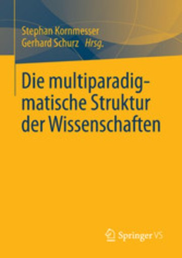 eBook Die multiparadigmatische Struktur der Wissenschaften Cover