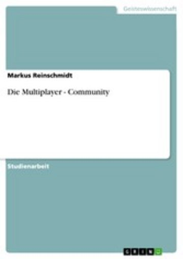 eBook Die Multiplayer - Community Cover